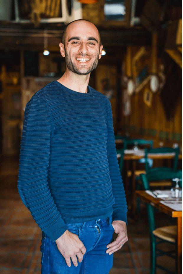 David, Gérant du restaurant La Pataterie
